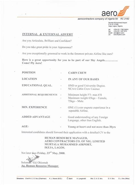 Resume for the post of cabin crew jpg 851x1170